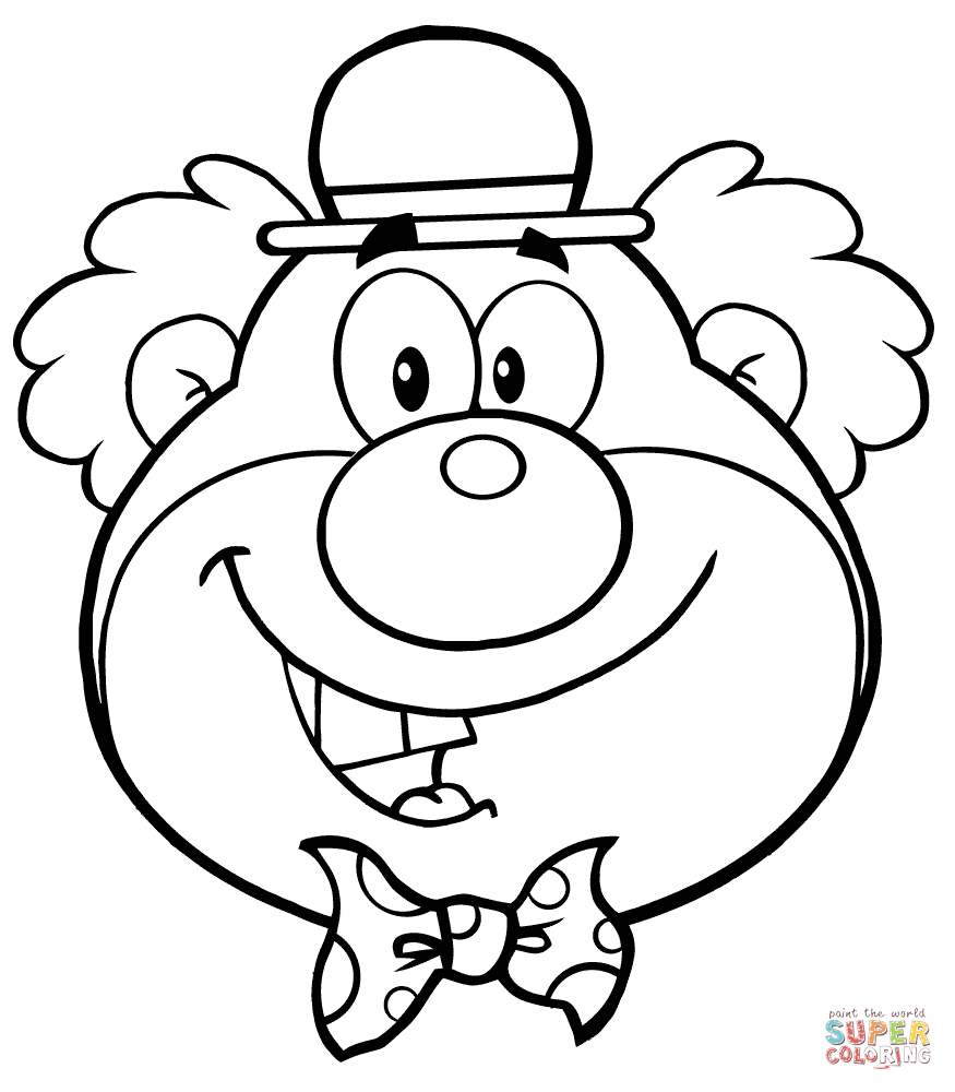 Clown Faces Drawing at GetDrawings.com | Free for personal use Clown ...