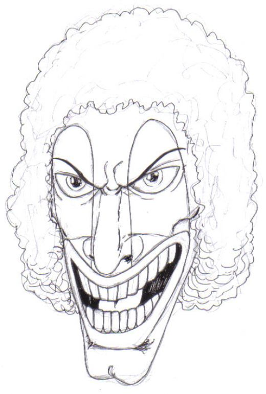 520x770 How To Draw A Scary Clown Scary Clowns, Scary And Scary Clown Face
