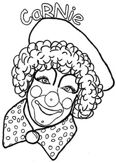 236x330 Clown coloring pages for adults Clown Coloring Funny Clown