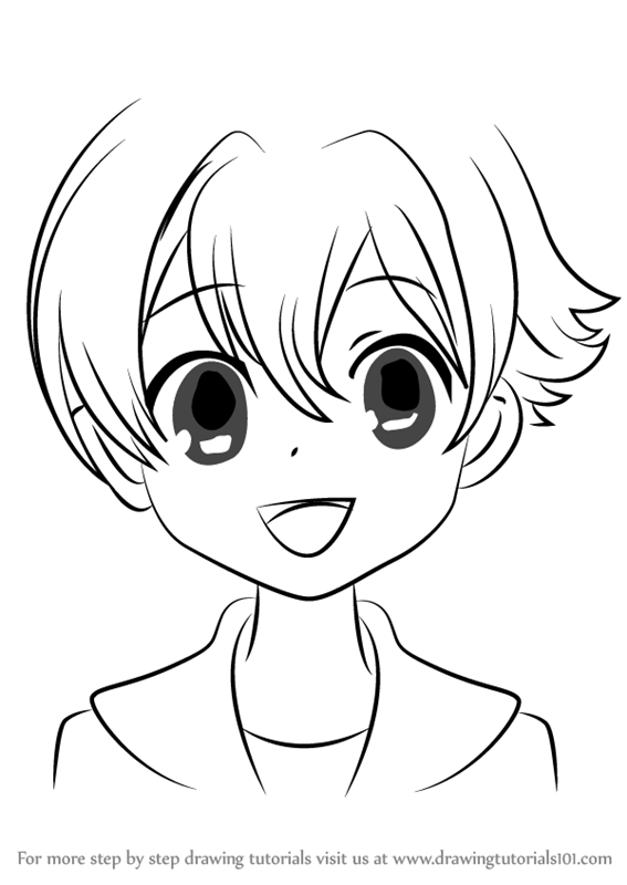 567x800 Learn How To Draw Honey From Ouran High School Host Club (Ouran