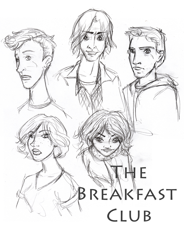 645x800 The Breakfast Club By C T Supahfly