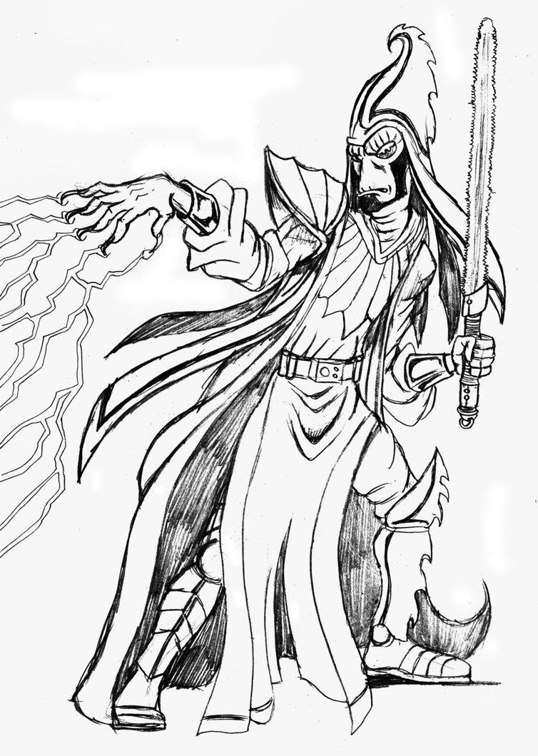 754x1060 Drawing Club Neimoidian Sith By Josephcrocono