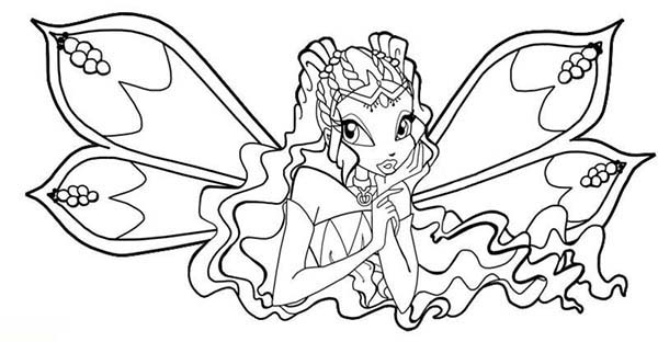 600x312 Drawing Princess Bloom Winx Club Coloring Pages Batch Coloring