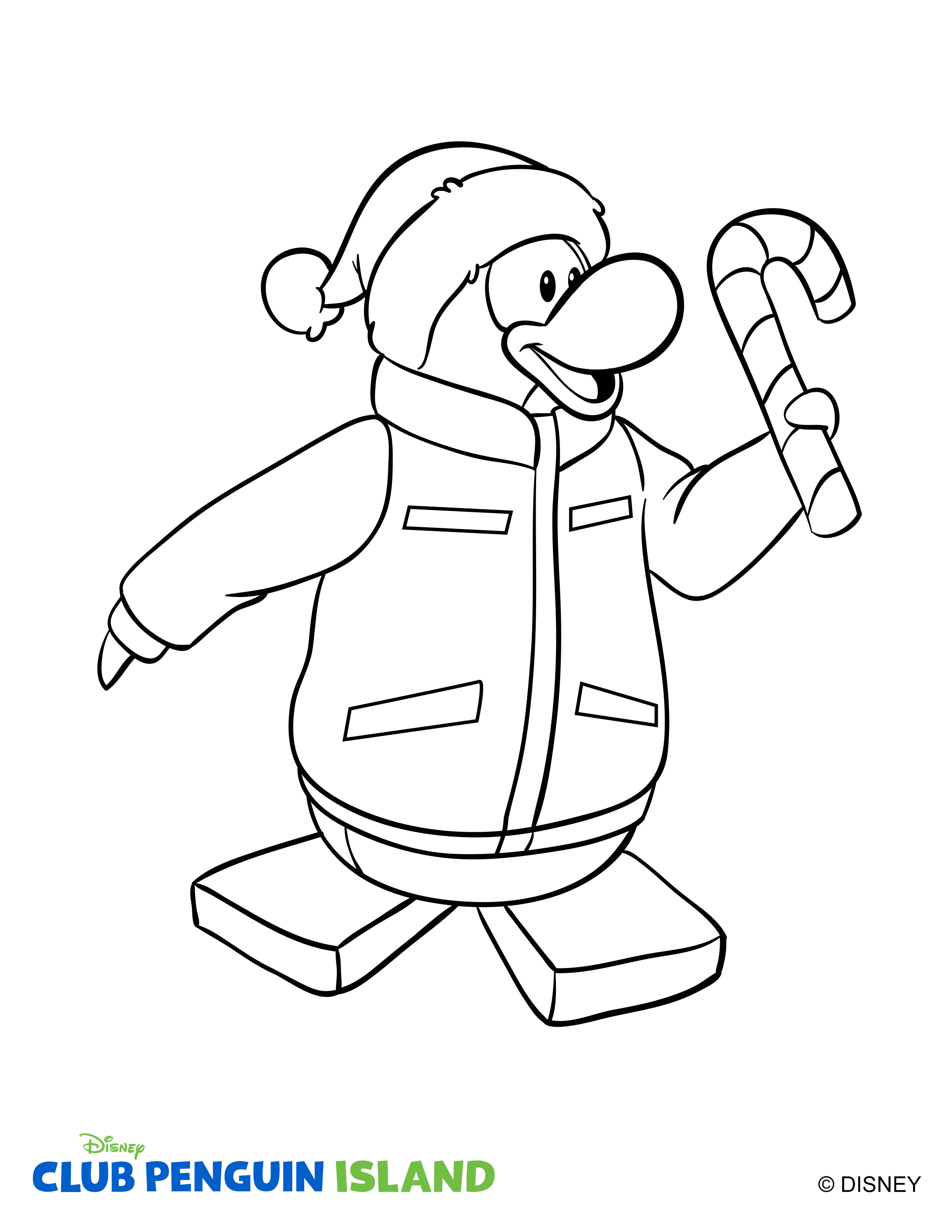 Club Penguin Drawing at GetDrawings.com | Free for personal use Club ...