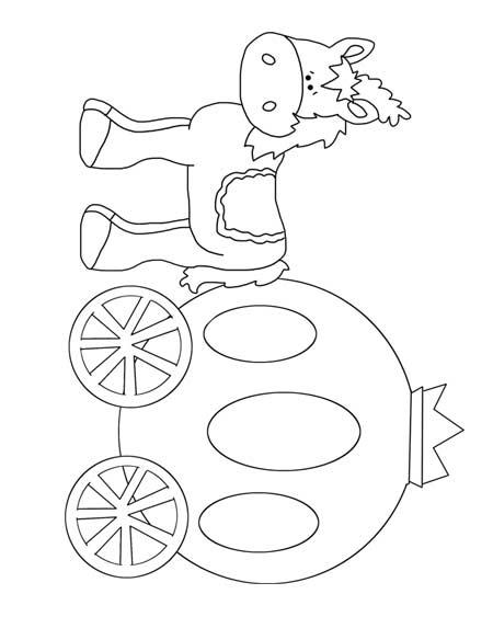 450x563 Cinderella Coach Printables