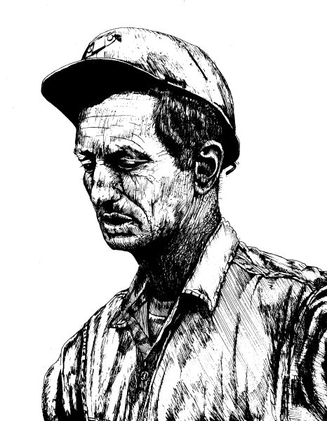 Coal Drawing