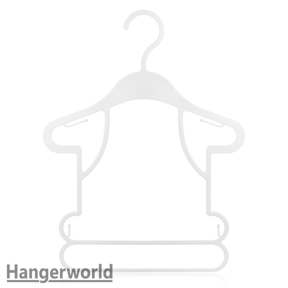 1000x1000 Wholesale Retail Plastic Baby Frame Shop Display Coat Hangers 26cm