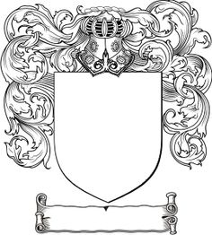 graphic regarding Printable Coat of Arms named Coat Of Palms Drawing at  Absolutely free for individual