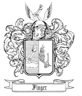 276x320 Finger Family Coat Of Arms