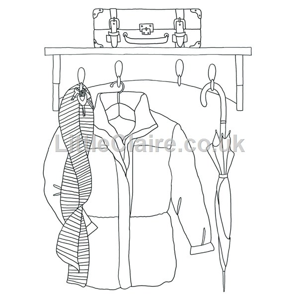 600x600 Digi Coat Rack Embriodery Ideas Coat Racks