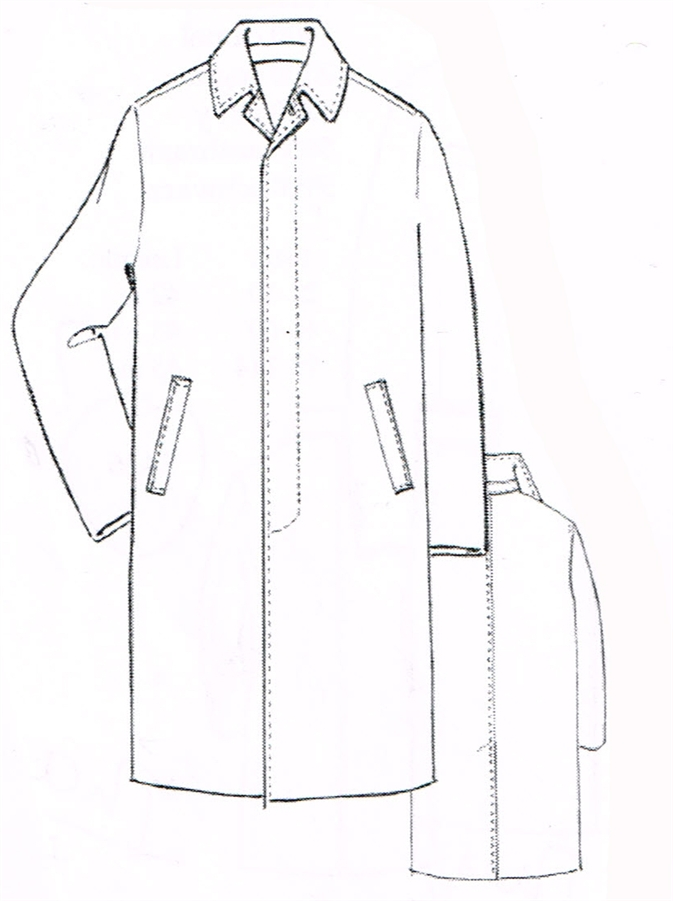 673x901 Mens Suit Drawing