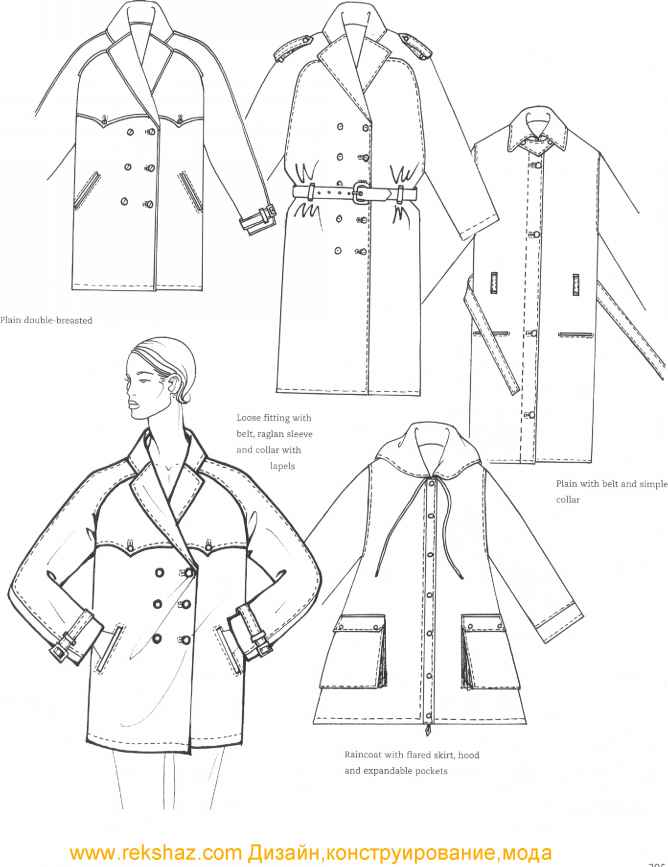 668x867 Double Breasted Coat Technical Drawing Cheryl Sews Creatively