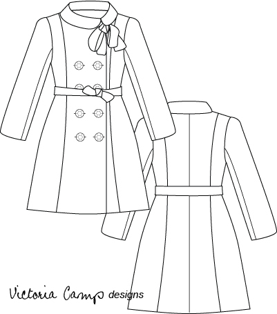 401x455 Fabric Two Ways Wool Coat And Satin Bolero Victoria Allison