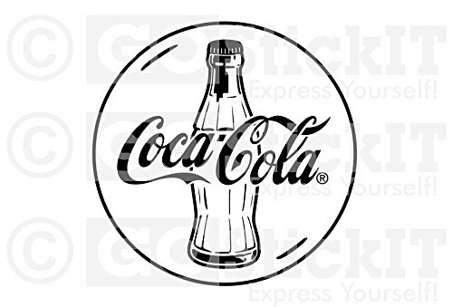 500x339 Gostickit Coke Coca Cola Logo Vinyl Wall Decal
