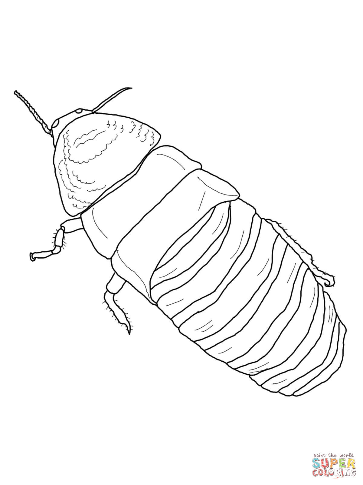 free roach approach coloring pages - photo#38