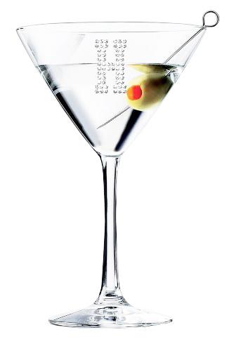 343x500 Personalized Classic Martinicocktail Glass (Optional Personalized