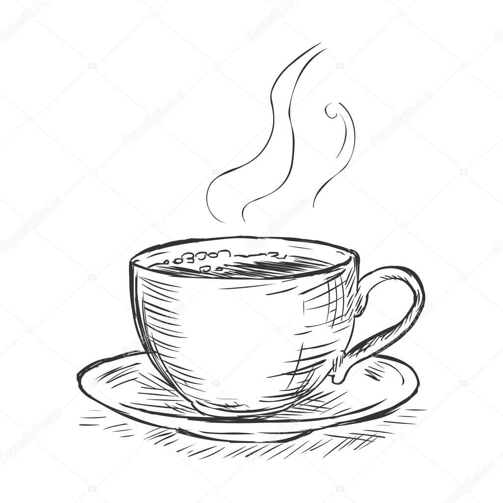 Coffee Cup Drawing at GetDrawings.com | Free for personal ...