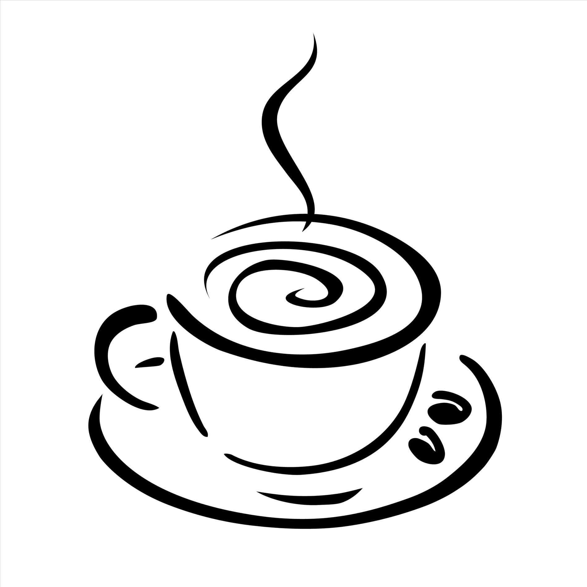 Coffee Cup Drawing Free at GetDrawings | Free download