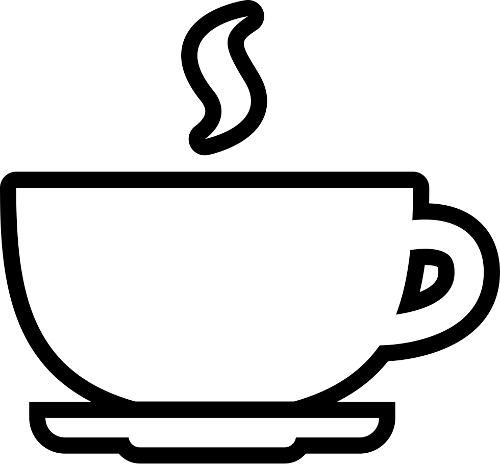 980x909 Coffee Cup Outline Svg Png Icon Free Download 58256