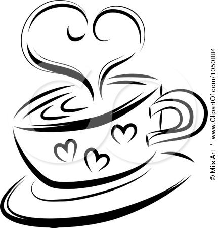 431x450 Coffee Mugs Clipart
