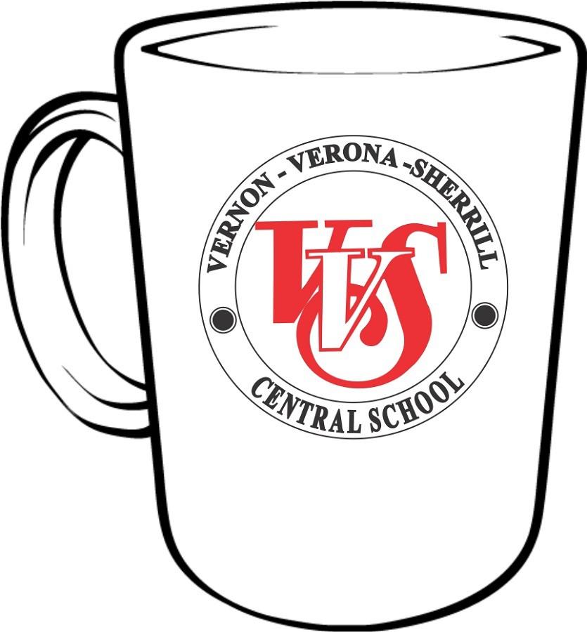 835x900 Vvs School Seal Coffee Mugs The Vvs Red Zone School Webstore