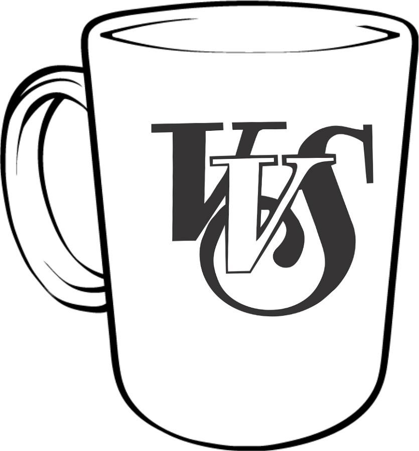 835x900 Vvs Script Logo Coffee Mug The Vvs Red Zone School Webstore