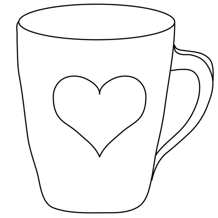 728x728 Coffee Mug Drawing Biantable