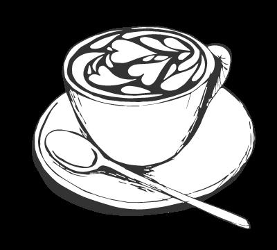 how to draw on coffee mugs