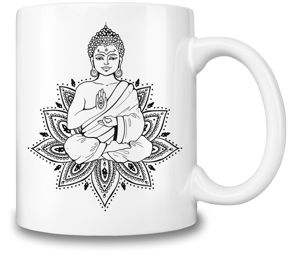 1001x903 Buddha Coffee Mug The Mug Mafia