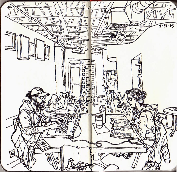 719x700 Ludstuff! Sketchbook Surprise In Boulder!