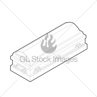 325x325 Coffin With Waving Hand Gl Stock Images