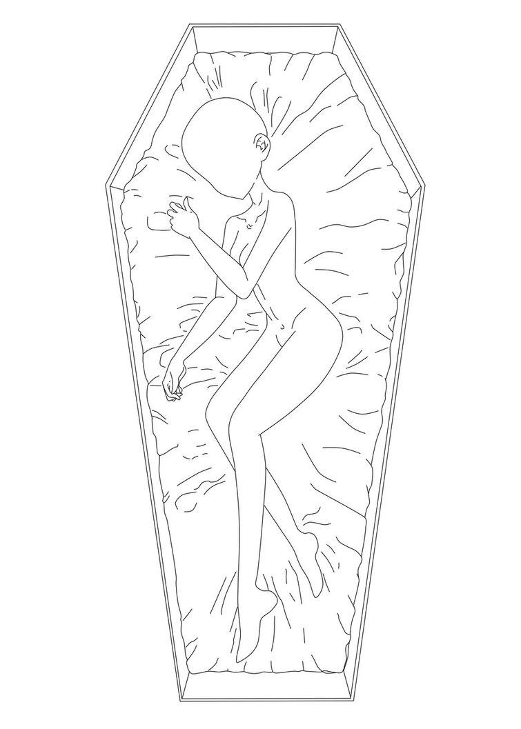 755x1057 Coffin Girl {Base