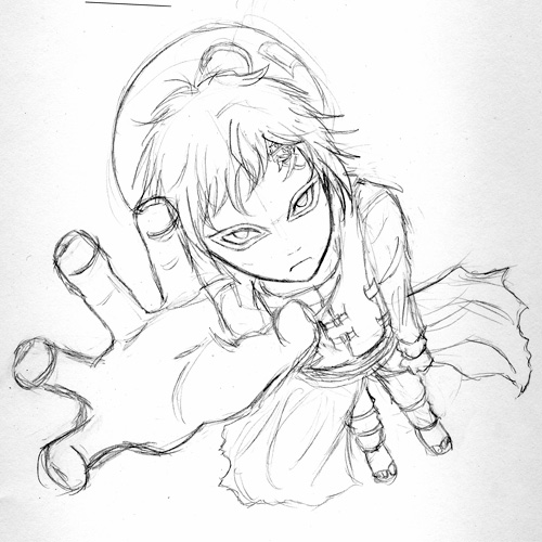 500x500 Desert Coffin Sketch By Hyrulemaster
