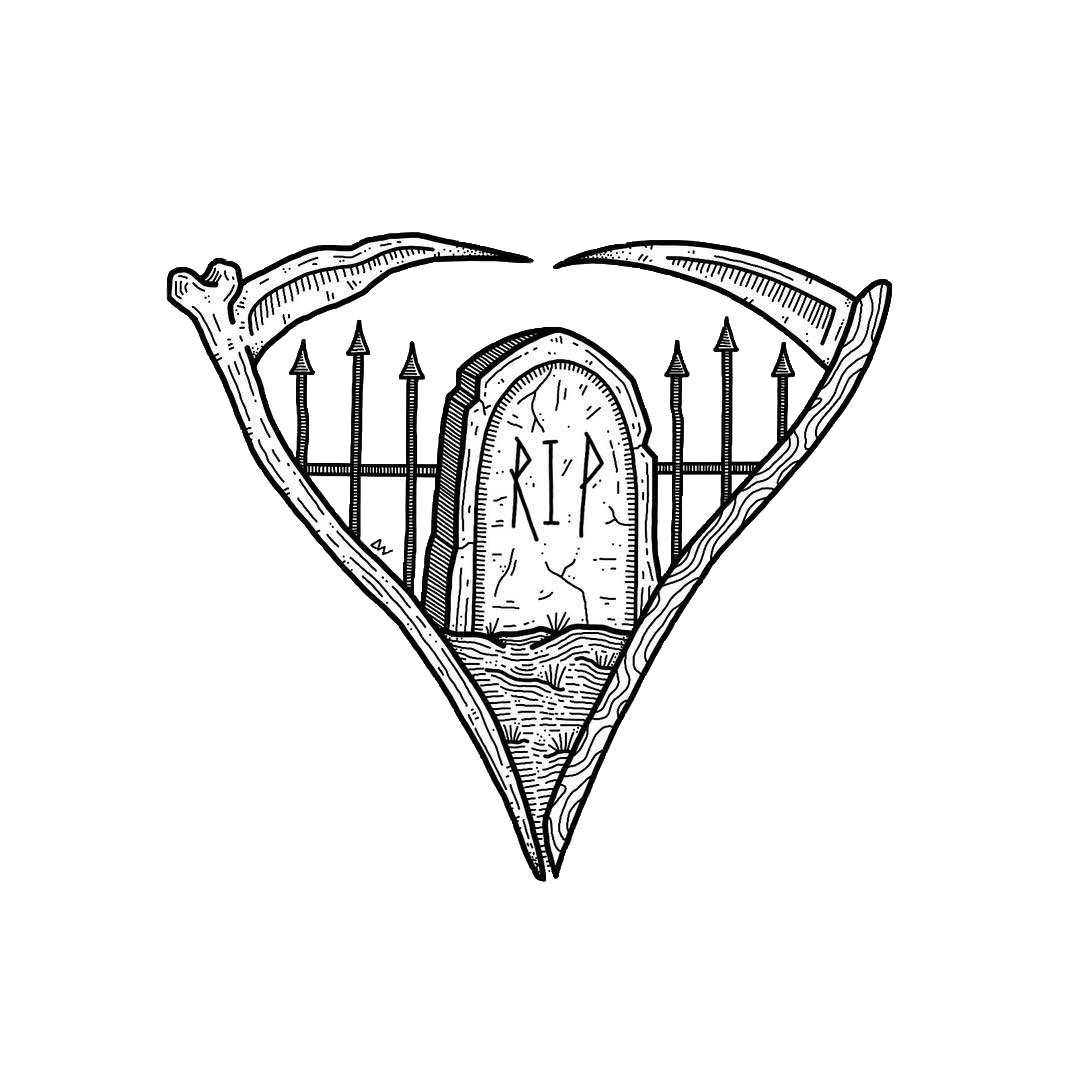 1080x1080 Tumblr Cemetery Coffin Coffins Scythe Blackandwhite
