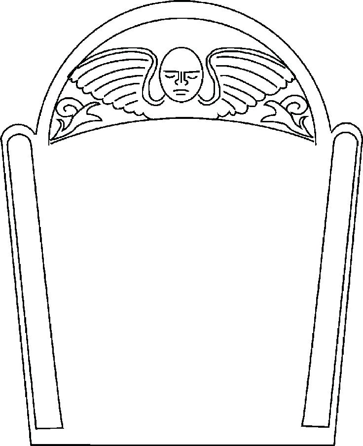 736x904 Tombstone Template Picture Of The Coffin Body Tombstone Template