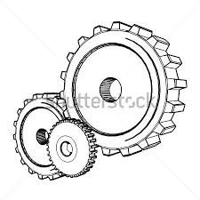 Cogs And Gears Drawing
