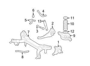 300x221 Brand New Genuine Oem Rear Suspension Coil Spring Mazda 6