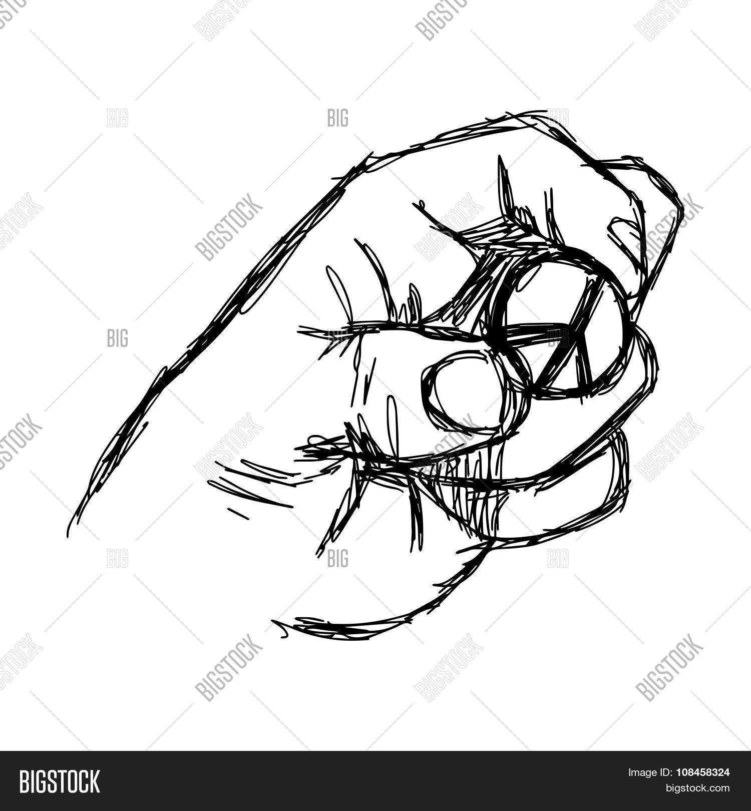 1500x1620 Illustration Vector Doodle Hand Vector Amp Photo Bigstock