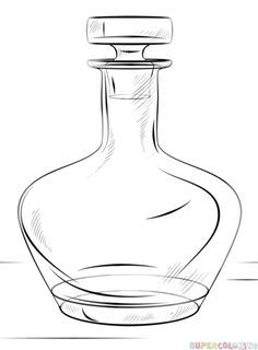 236x320 How To Draw A Bottle Step By Step. Drawing Tutorials For Kids