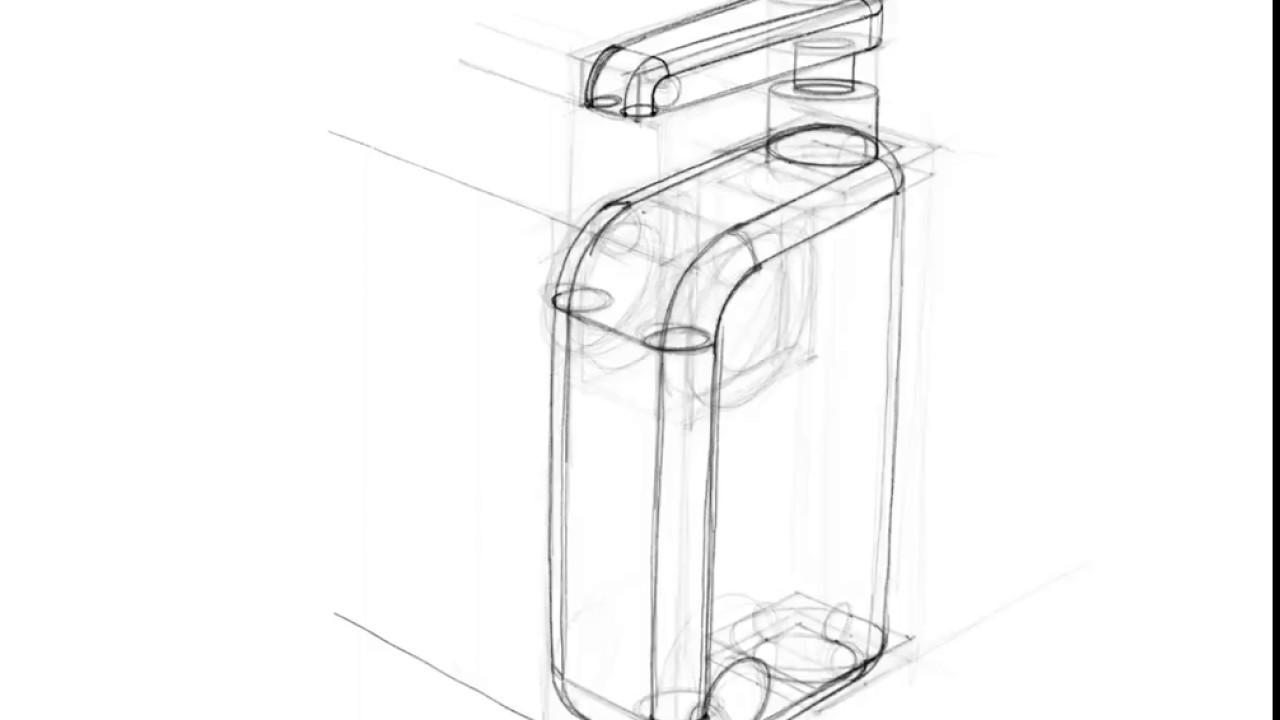 1280x720 Perspective Soap Bottle