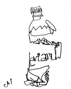 239x300 Bottles Drawings
