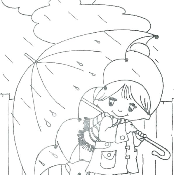 596x600 Weather Coloring Sheets Cold Weather Clothing Coloring Pages