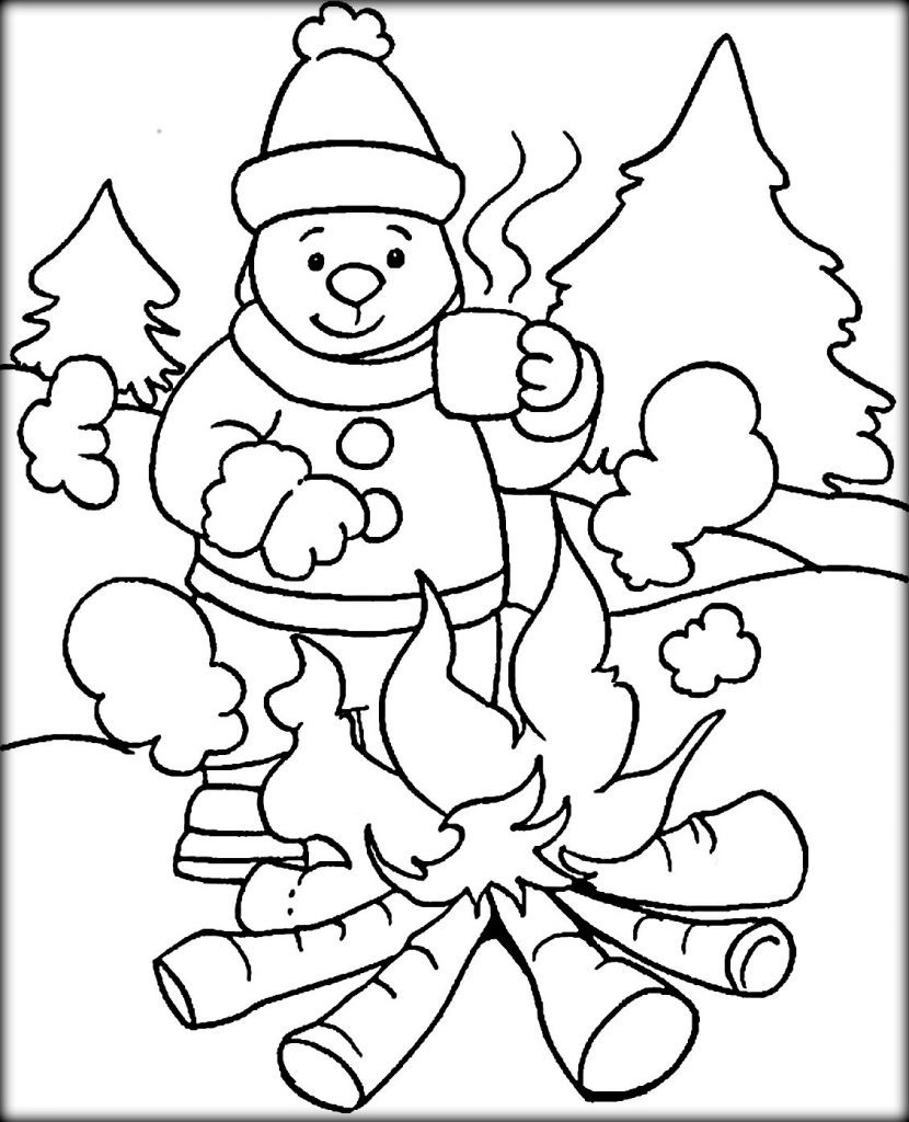 Cold Weather Drawing at GetDrawings | Free download