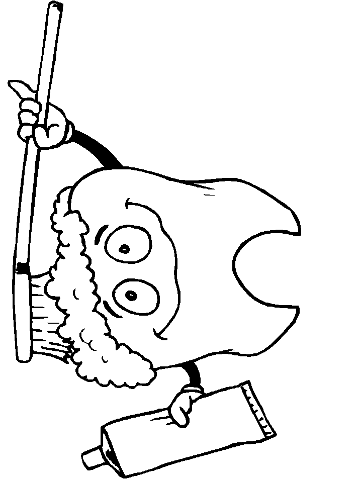 718x957 Colgate Tooth Coloring Pages