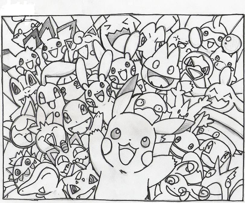 Collage Coloring Pages Elitflat