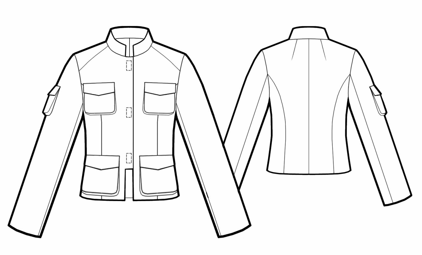 1652x1000 Jacket With Stand Collar