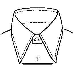 258x258 A Guide To Men's Dress Shirt Collar Docourlife