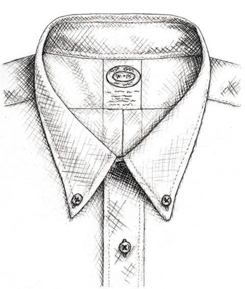 480x566 Dropping Knowledge The Button Down Collar Gq