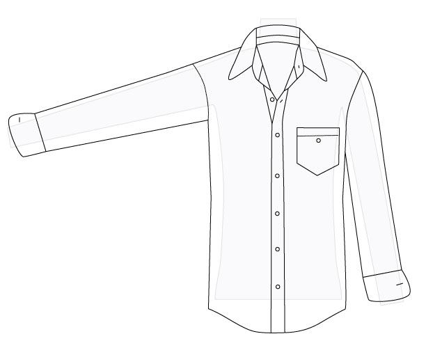 612x503 How To Alter A Men's Shirt, Part 1 Amy Alan Really Handmade
