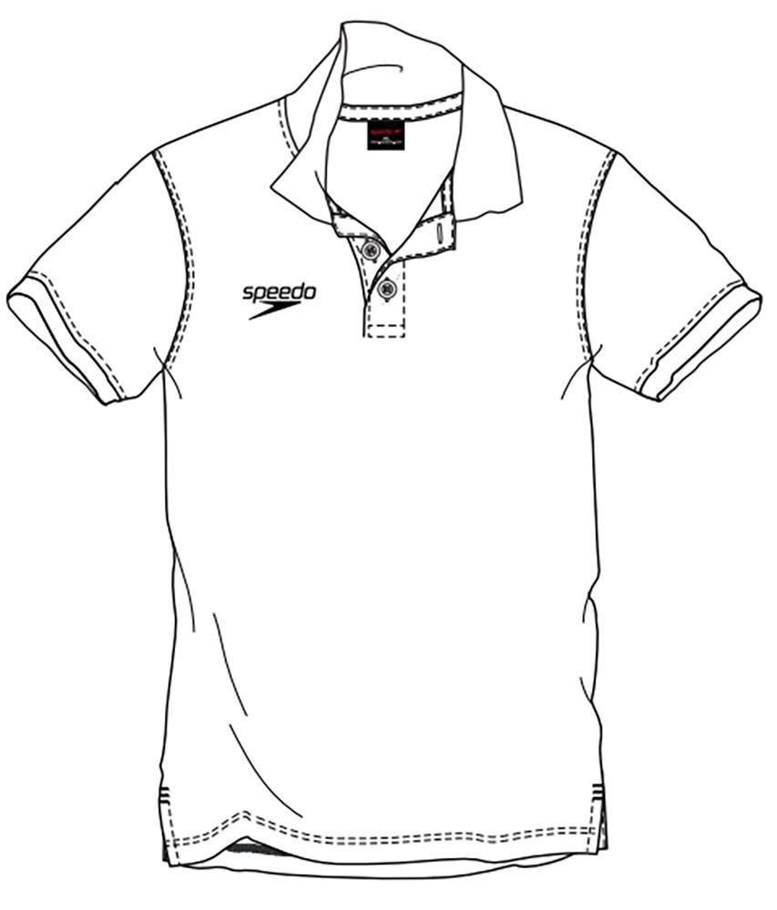 853x1000 Speedo Polo Shirt Polo Shirts White Ebay